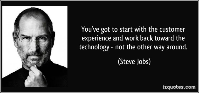 Steve Jobs & Customer Experience
